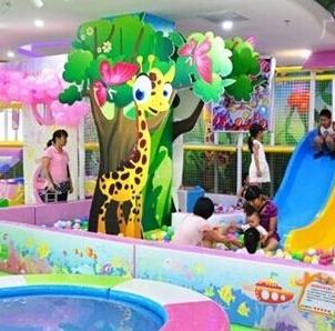淘嘻乐儿童游乐园加盟